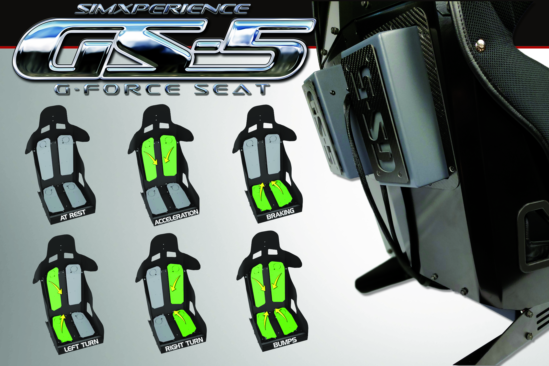 SimXperience GS-5 G-Force Seat Available Now