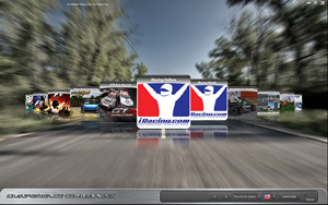 Sim Commander 3 MOtion Simulator Software Engine Main Screen