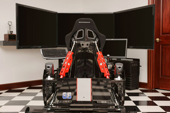 SimXperience Stage 5 Professional Full Motion Racing Simulator